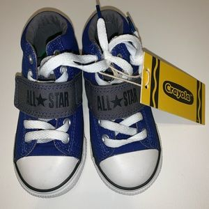 Converse All Star Crayola toddler s 9, new w/ tag